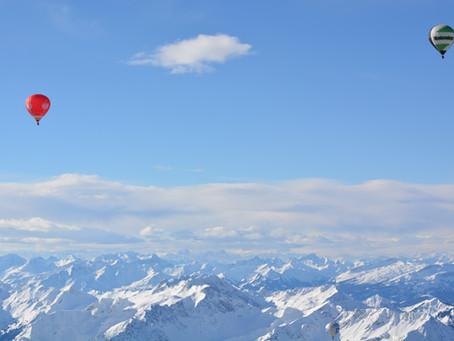 Berge, Weitsicht und Glühwein