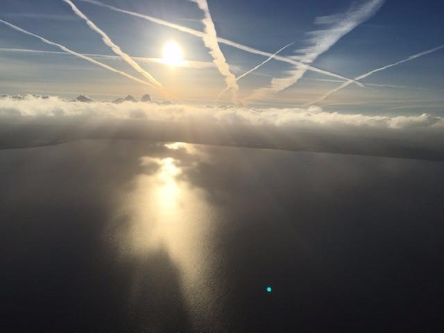 Über den Wolken - ist die Ballonfahrt am schönsten!
