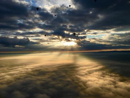 Über den Wolken... atemberaubend!