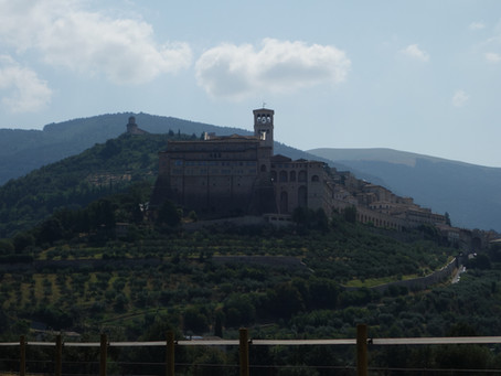 Assisi - tolle Stadt