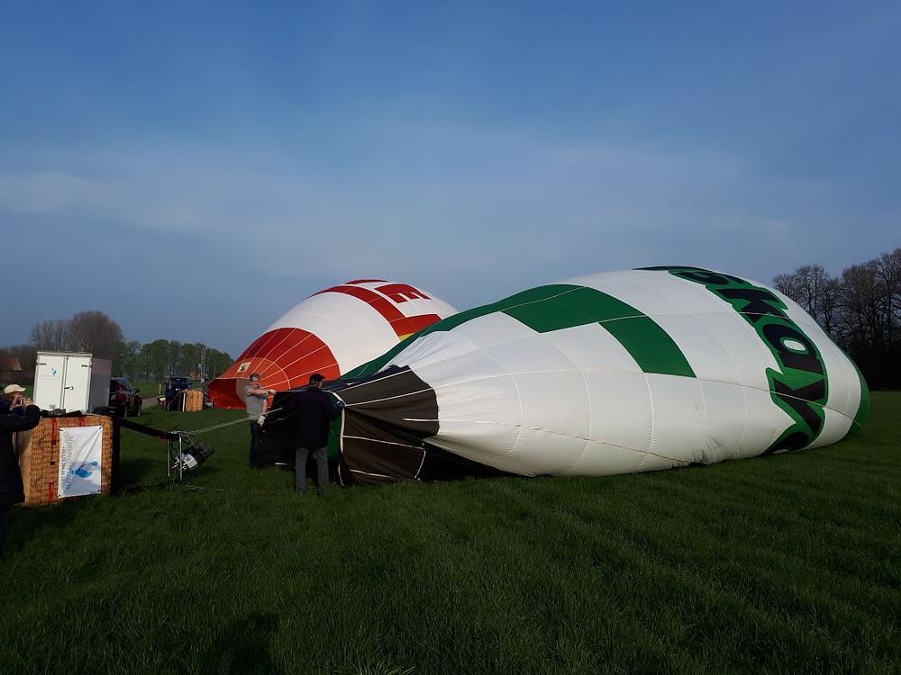 Die Himmelsriesen wieder mit ihren Heißluftballonen am Start