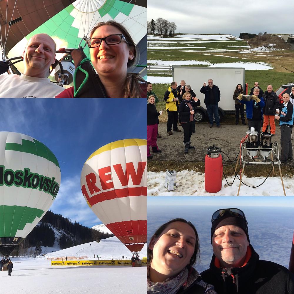 Tag des Glücks: Unsere Freunde und Ballonfahren