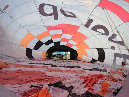 1. Ballonfahrt in Kevelaer