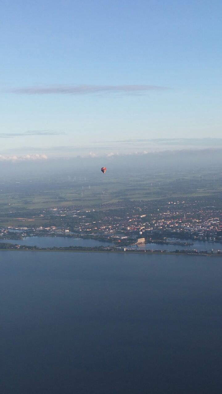 Ballonfahrt von Wilhelmshaven aus