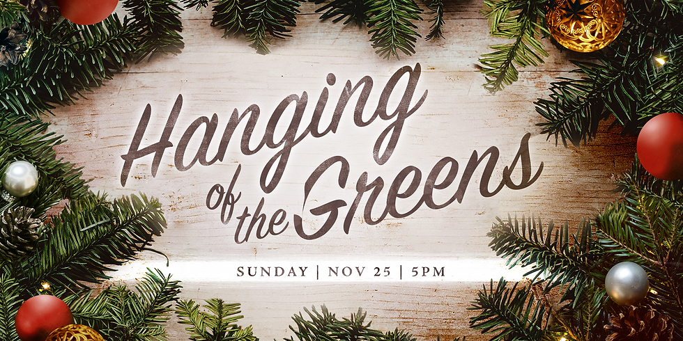 Hanging of the Greens