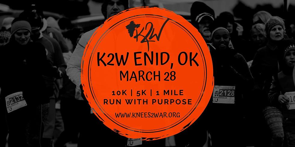 Knees2War Run/Walk