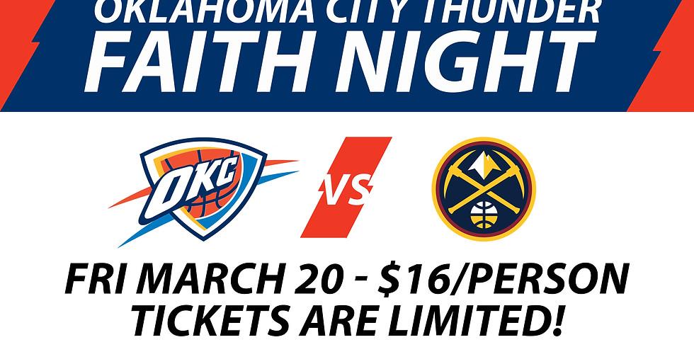 OKC Thunder Faith Night