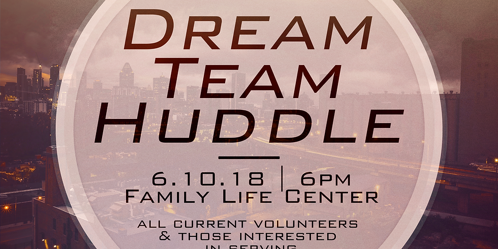Dream Team Huddle