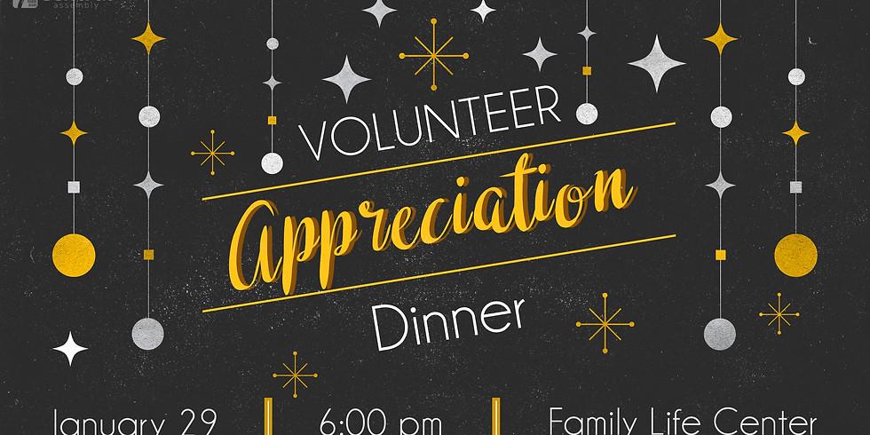 Volunteer Appriciation Dinner
