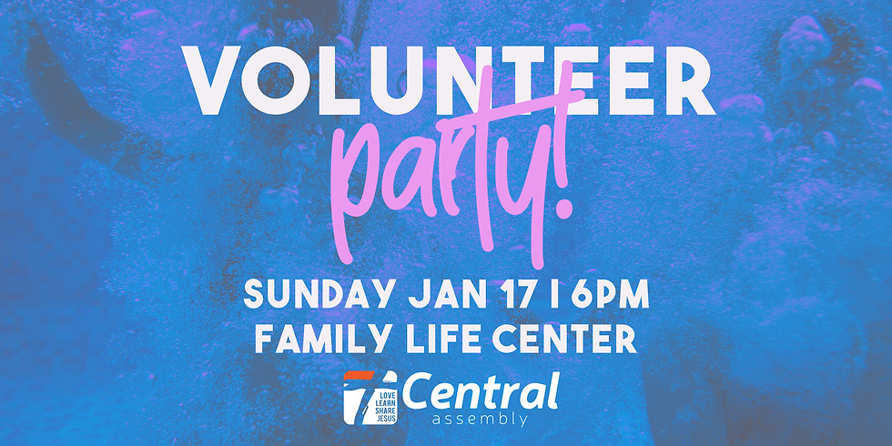 Volunteer Party!