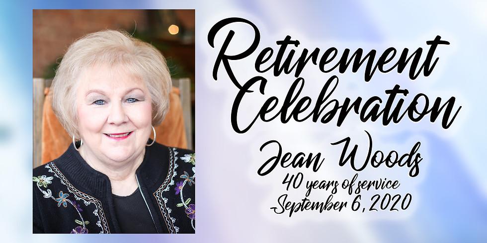 Jean Woods' Retirement Celebration