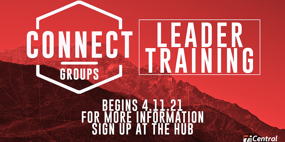 Connect Group Leader Training