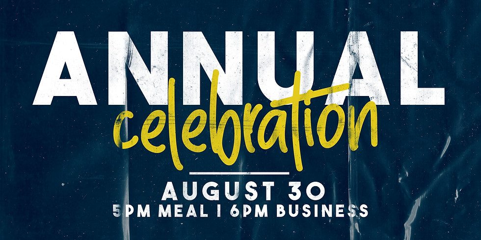 Annual Celebration & Business Meeting