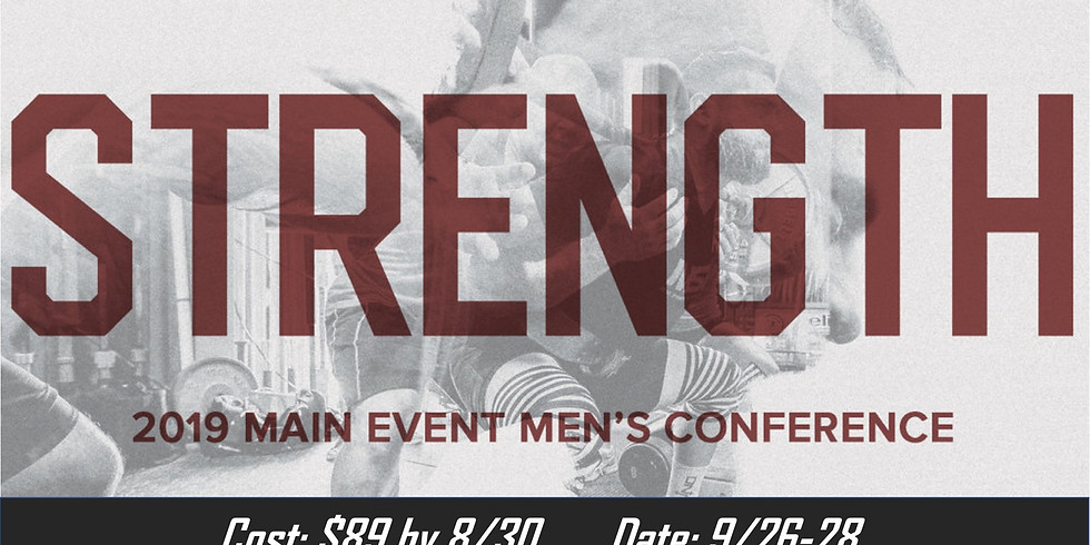 Main Event Men's Conference