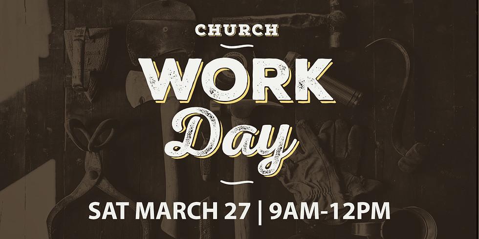 2021 Spring Work Day