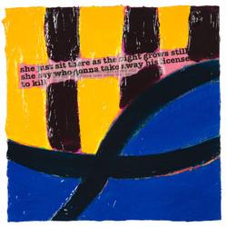 SONGLINES (Bob Dylan) #16   2007 © Kerstin Jeckel