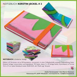 Notizbuch | # 2 | © Kerstin Jeckel | 2015