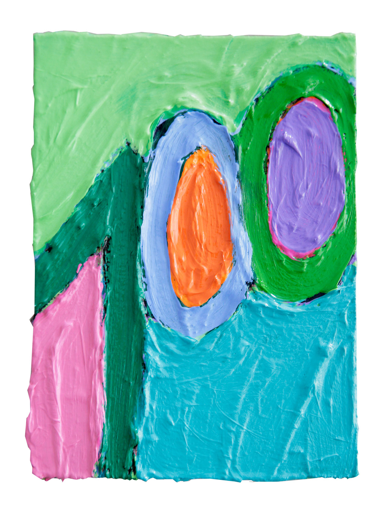 """100""   2011 © Kerstin Jeckel   TAFELBILD #100"