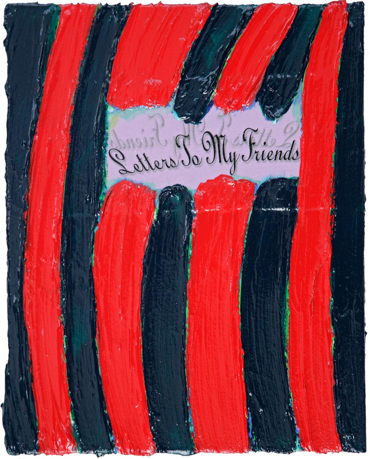 LETTERS TO MY FRIENDS #43 © Kerstin Jeckel