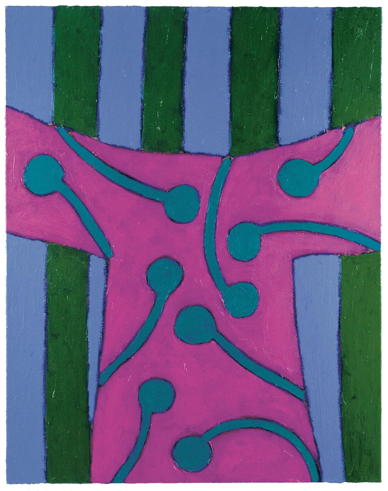 SHINY PATTERNS - GARDEN PIECES IX | 2000 © Kerstin Jeckel