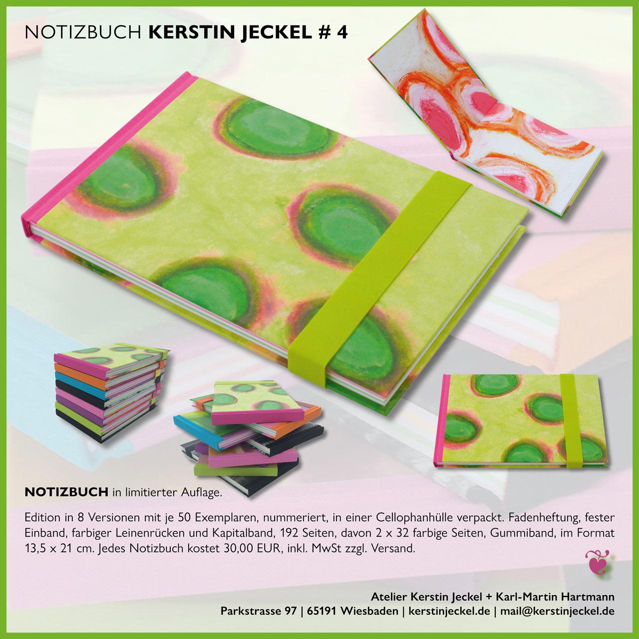 Notizbuch | # 4 | © Kerstin Jeckel | 2015