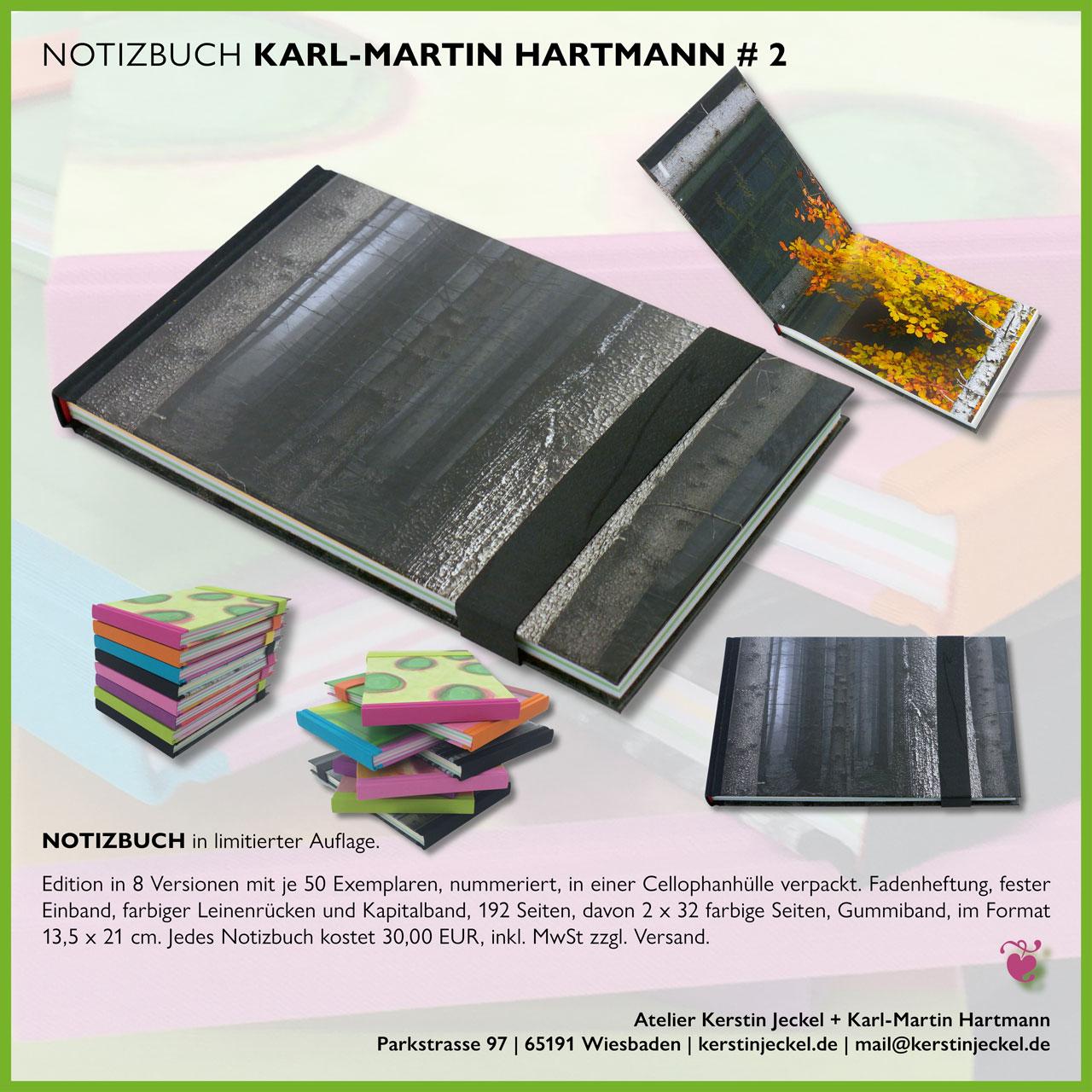 Karl-Martin Hartmann | Notizbuch # 2 | © Kerstin Jeckel | 2015