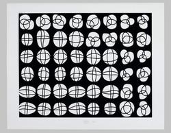 # 20 | o.T. - Muster aus Fenster S XII, St. Nikolai, Kalkar © Karl-Martin Hartmann | 2001