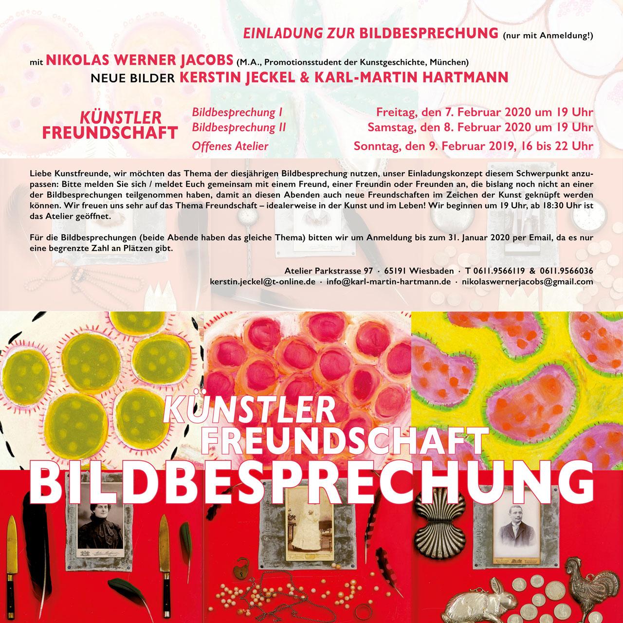 BILDBESPRECHUNG | 2020 © Kerstin Jeckel + Karl-Martin Hartmann