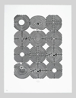 # 16 | o.T. - Labyrinthe Chorfenster, St. Nikolaus, Rosenheim © Karl-Martin Hartmann | 2005