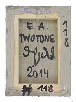 back | TWOTONE | 2014 © Kerstin Jeckel | MEMORY-PROJEKT #118