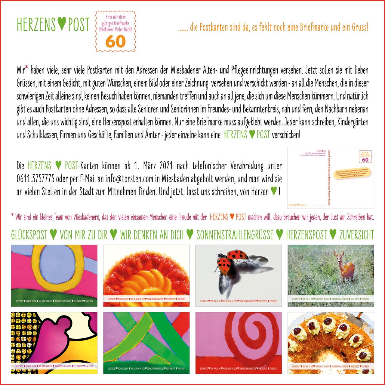 Info HERZENSPOST 2021