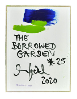 back: THE BORROWED GARDEN * 25   2020 © Kerstin Jeckel