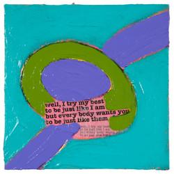 SONGLINES (Bob Dylan) #23   2007 © Kerstin Jeckel
