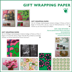 GIFT WRAPPING PAPER © Kerstin Jeckel   2019
