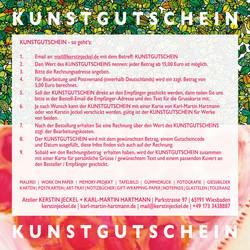 KUNSTGUTSCHEIN | HOW TO DO