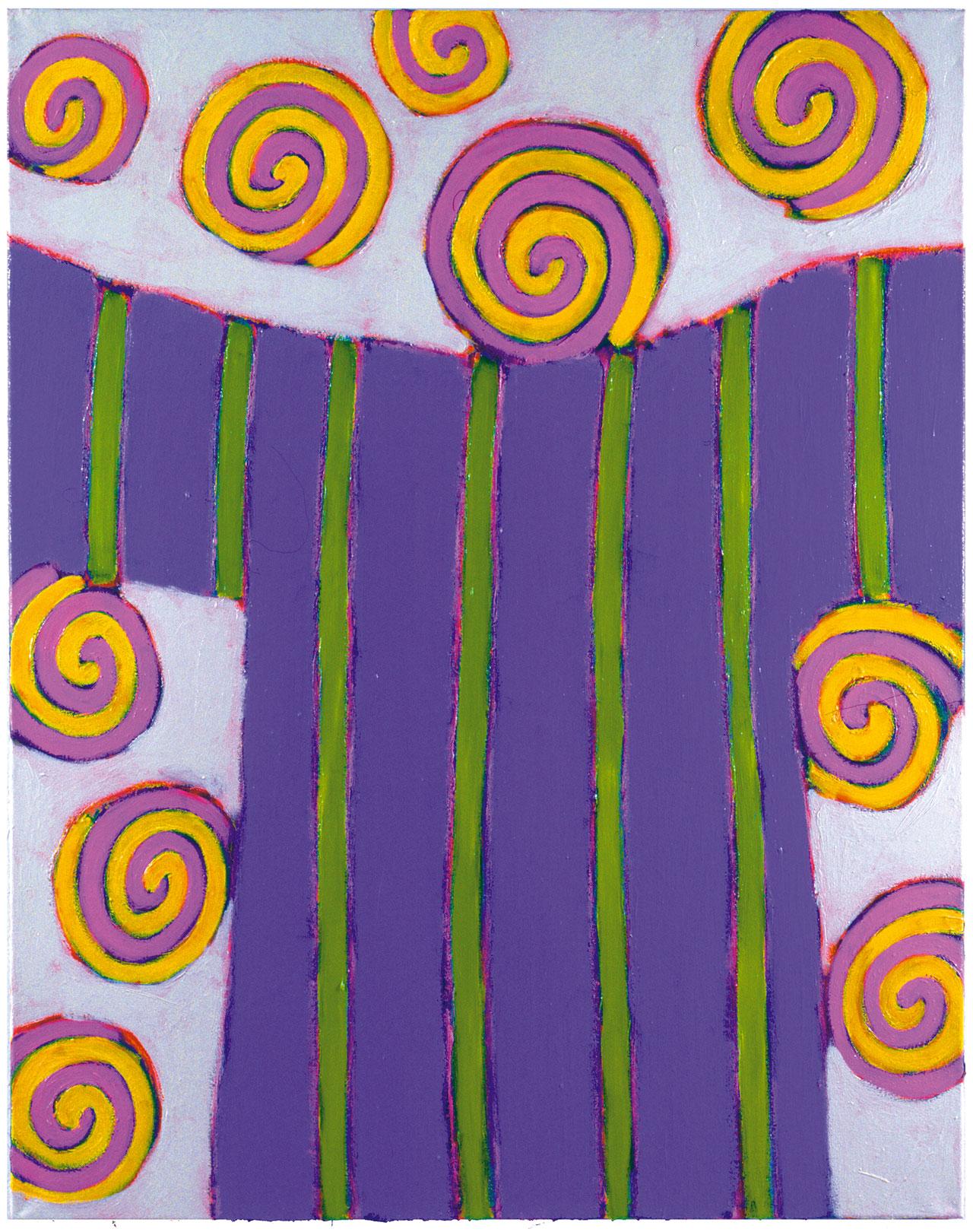 SHINY PATTERNS - GARDEN PIECES VII | 2000 © Kerstin Jeckel