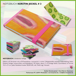 Notizbuch | # 3 | © Kerstin Jeckel | 2015