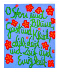 O STERN UND BLUME I | 2002 © Kerstin Jeckel