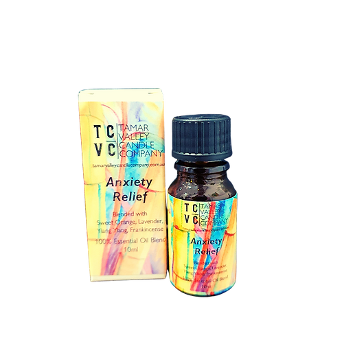 Anxiety Relief Essential Oil Blend