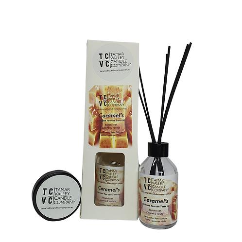 Caramel's Reed Diffuser