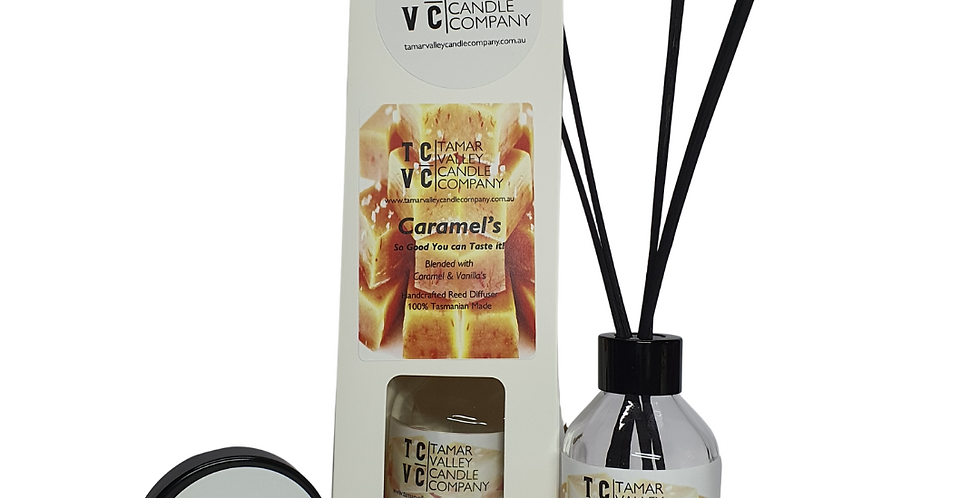 W/S Caramel's Reed Diffuser