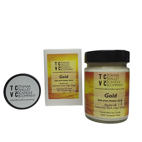 Gold Soy Candle