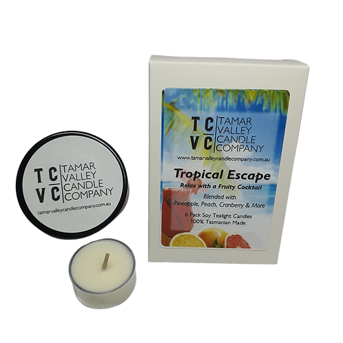 Tropical Escape Soy Tealights