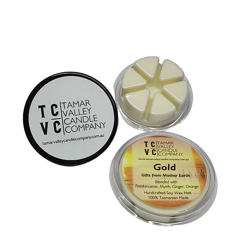 Gold Soy Wax Melts 6 Pack