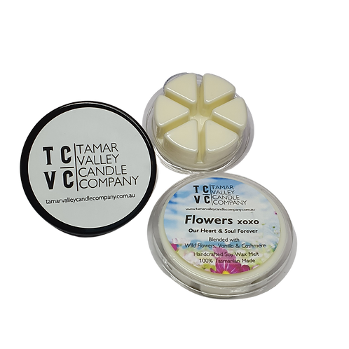Flowers xoxo Soy Wax Melts 6 Pack