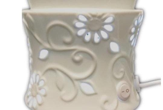 Electric Wax Warmer LED (Flower)