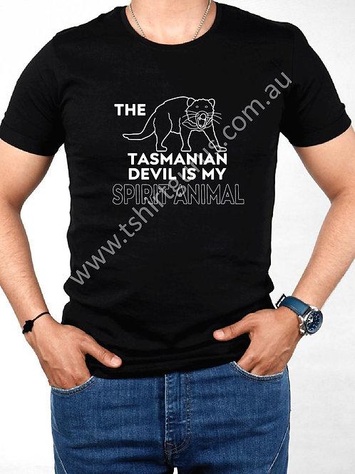 Tassie Devil Spirit Animal Ver.1 - Custom Shirt