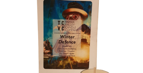 Winter Defence Soy Tealights
