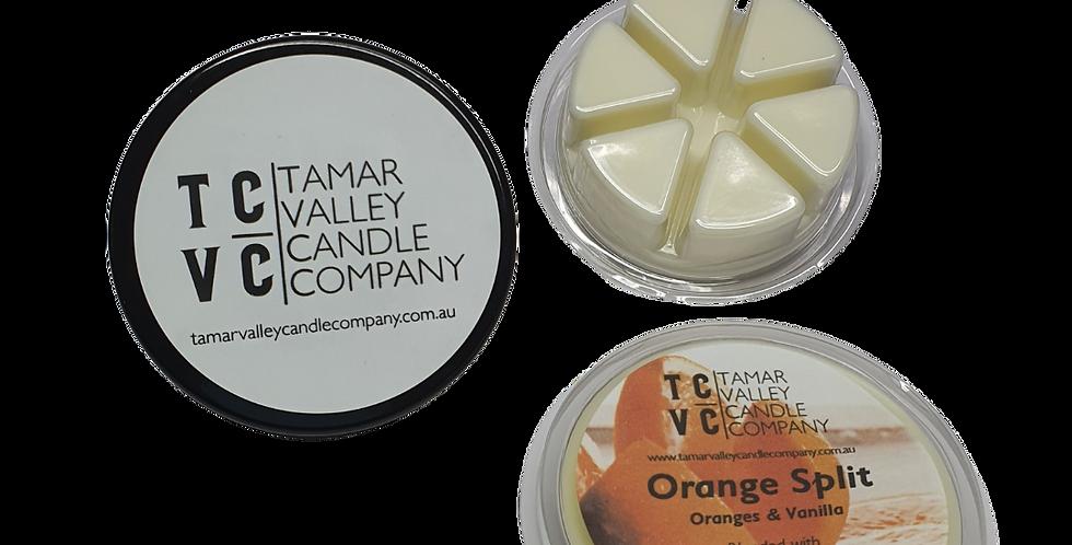 Orange Split Soy Wax Melts 6 Pack