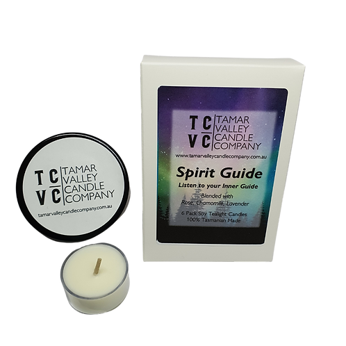 Spirit Guide Soy Tealights